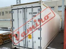 Chladící kontejner - Isotermický chladící kontejner bez chlazení - možnost namontovat zpět