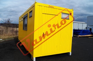 Kontejner s kuchyňskou linkou - Obytný kontejner s kuchyňskou linkou a sociálním zázemím