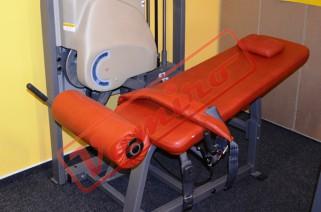 NAUTILUS - ZAKOPÁVÁNÍ V LEŽE - Starší fitness stroje Nautilus