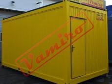Obytný kontejner - REPASOVANÝ NA OBJEDNÁVKU - Obytný kontejner - šířka 3m